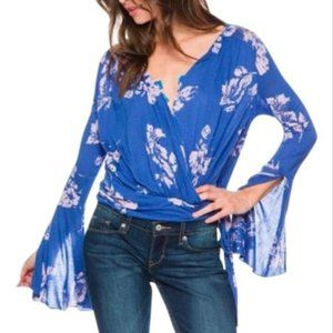 BOGO Free | EUC Free People Fiona Flora Top